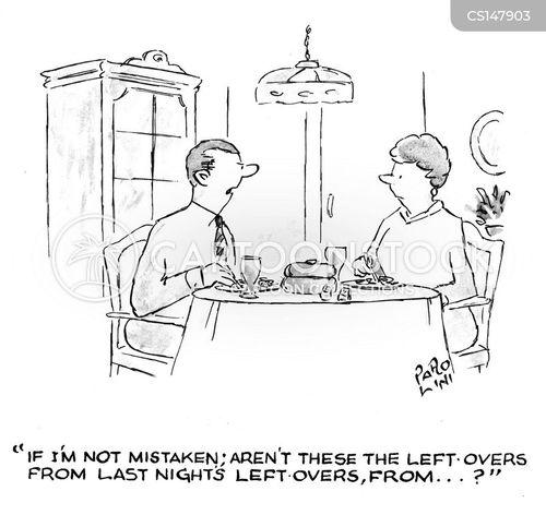 home-cooking cartoon