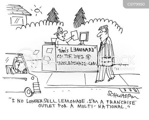 lemonade stalls cartoon