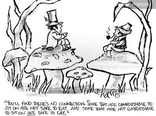 toadstools cartoon