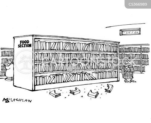 cookery book cartoon