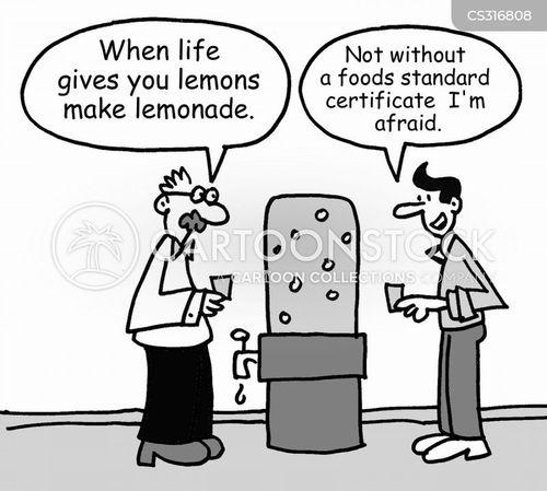 hygiene certificates cartoon