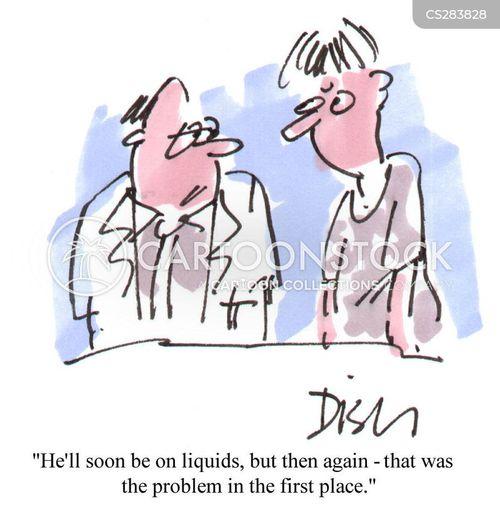 liquids cartoon