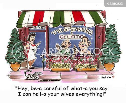 awning cartoon