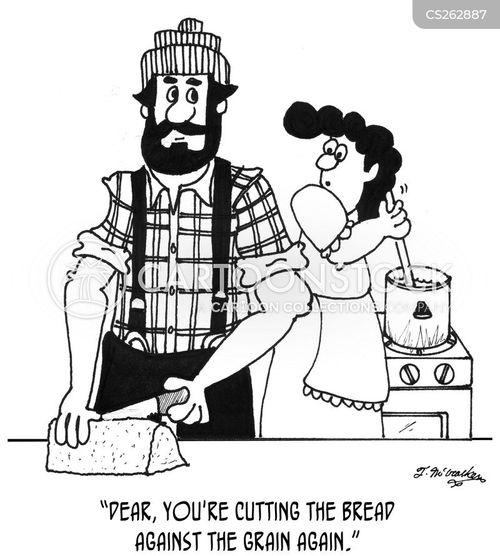 lumber-jack cartoon