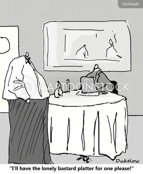 sharing platters cartoon