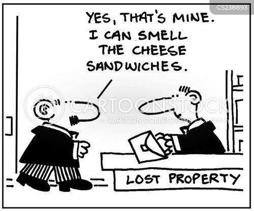 lost items cartoon