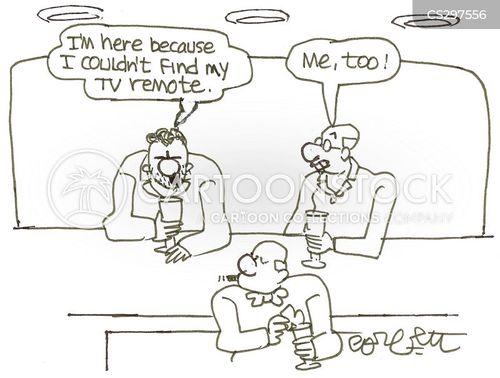 lost remotes cartoon