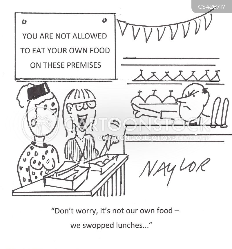 eating-out cartoon
