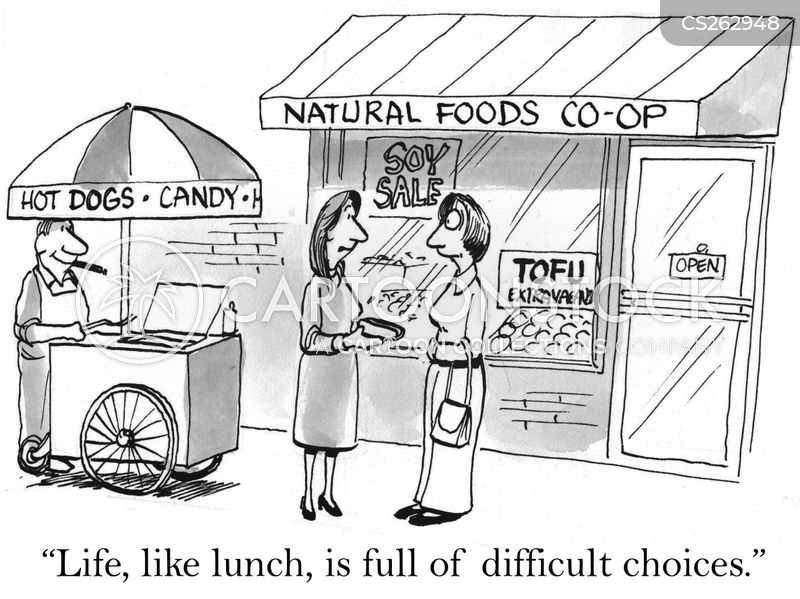 lunch times cartoon