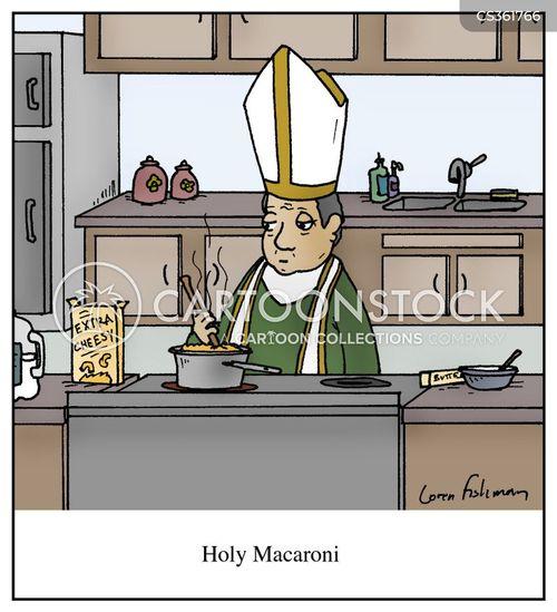 macaroni and cheese cartoon
