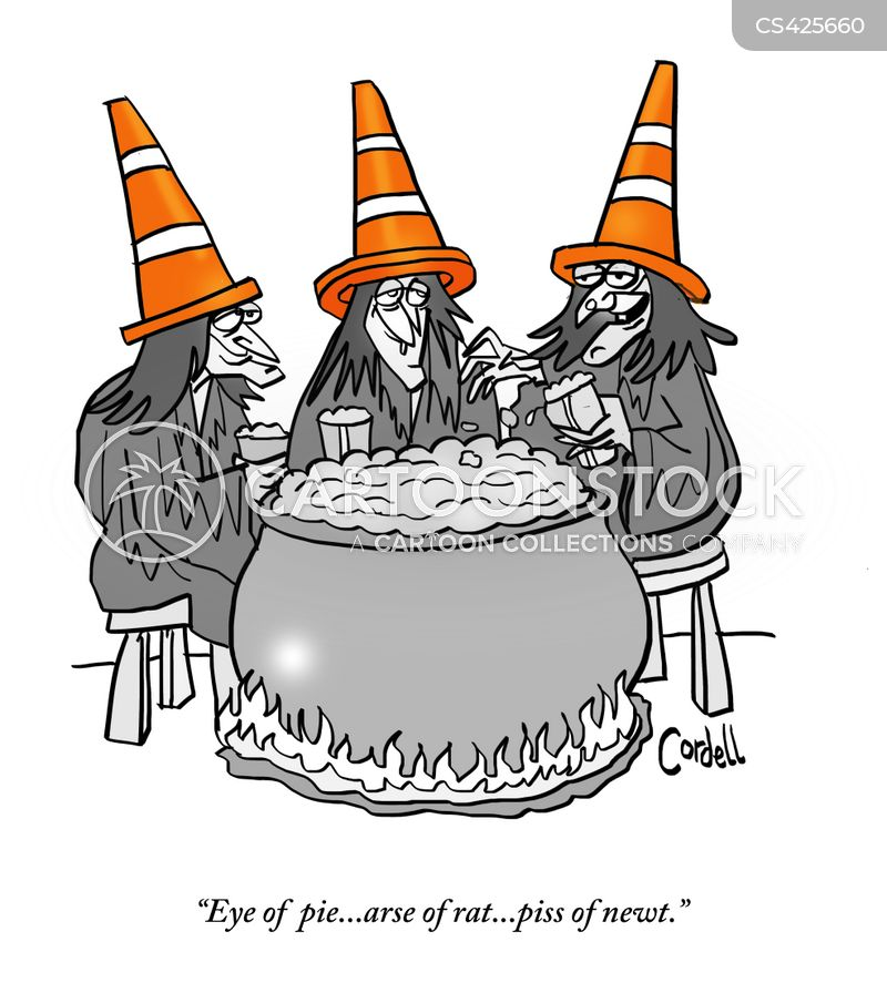 macbeth cartoon