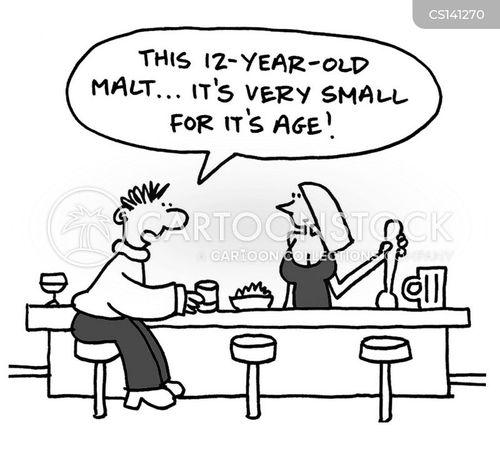 malt whiskey cartoon