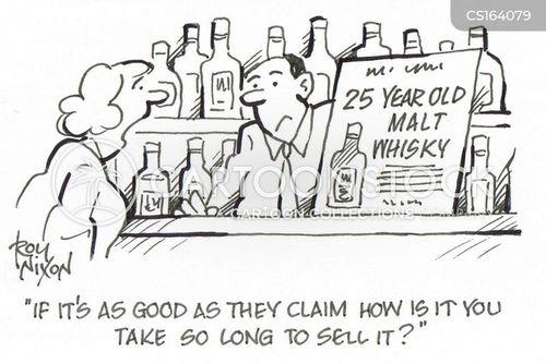 malt whisky cartoon