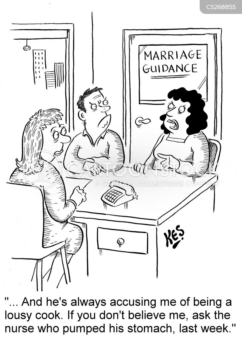 marital therapy cartoon