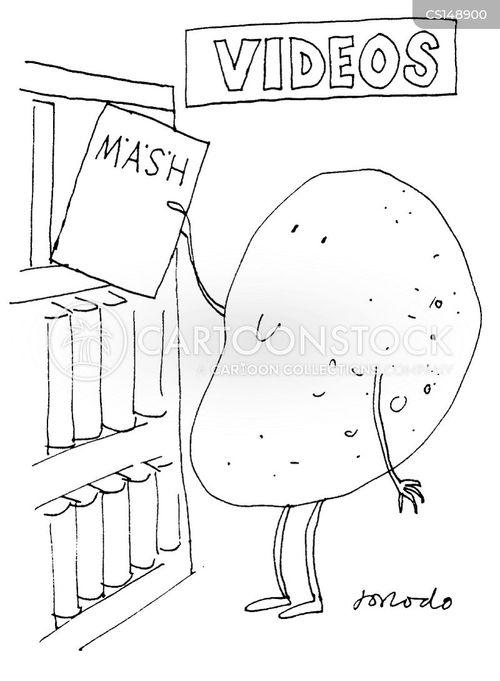 mash cartoon