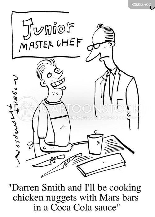 master chef cartoon