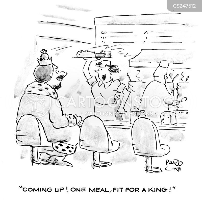 fit for a king cartoon