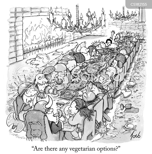 gorging cartoon