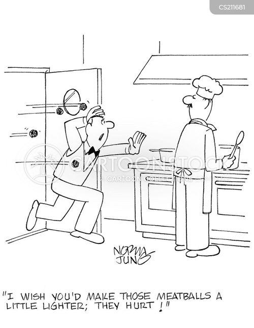 dissatisfied customer cartoon