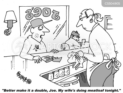 meatloaves cartoon