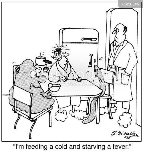 starve a fever cartoon