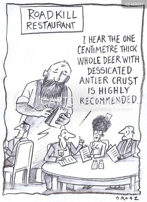 wild game cartoon