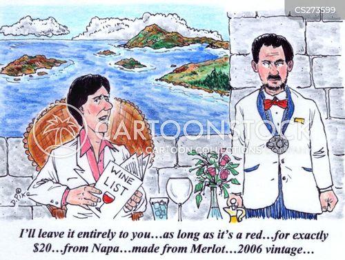 napa valley cartoon