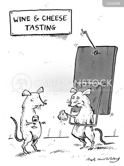 mice traps cartoon