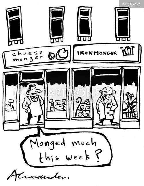 shop keepers cartoon
