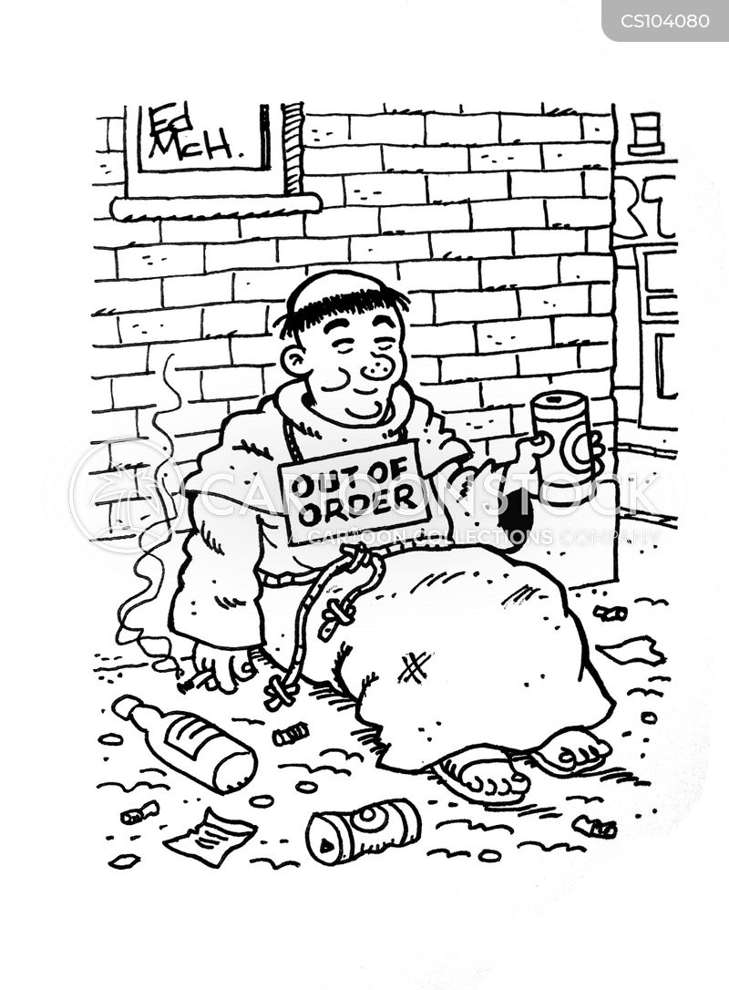 out-of-order cartoon