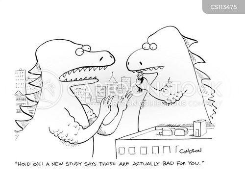 food-scares cartoon