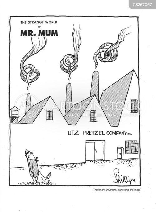pretzel cartoon