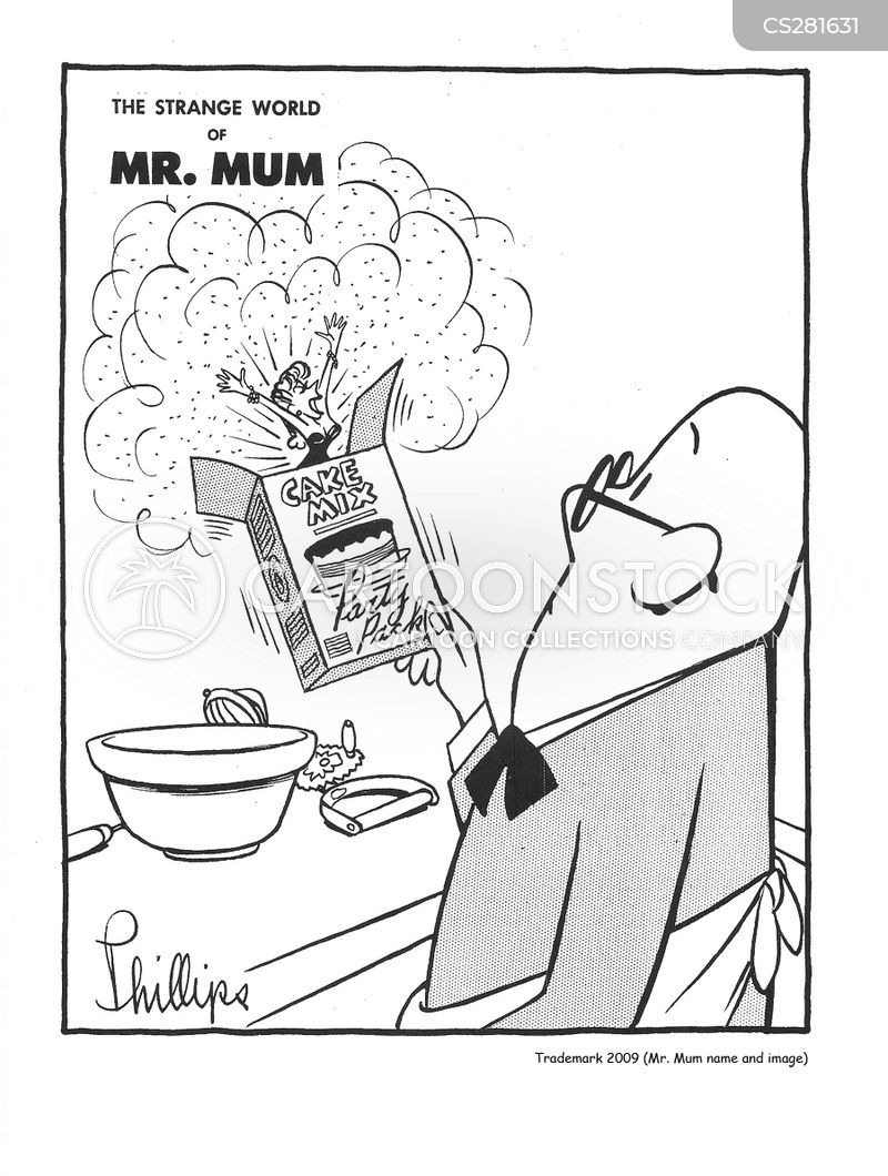 cake mixes cartoon