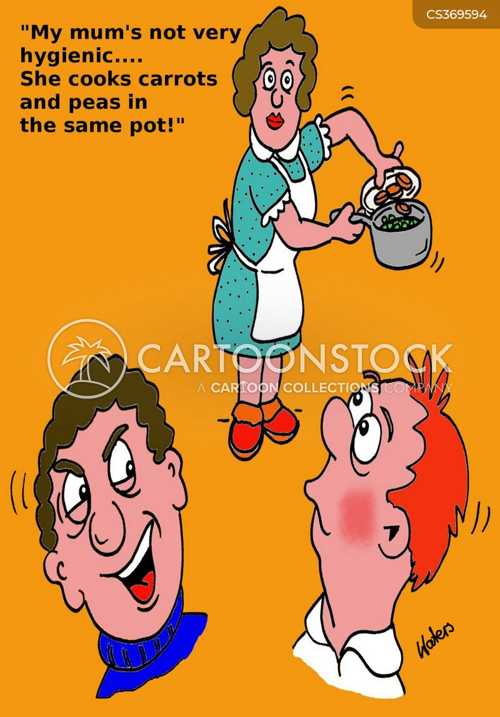 homemade food cartoon