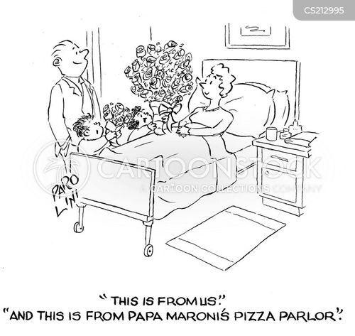 pizza parlour cartoon