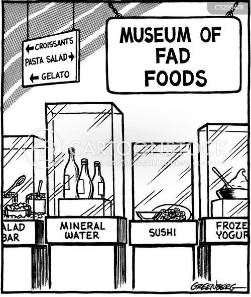 fad food cartoon