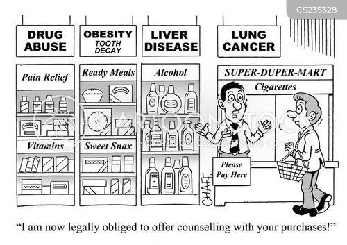 liver disease cartoon
