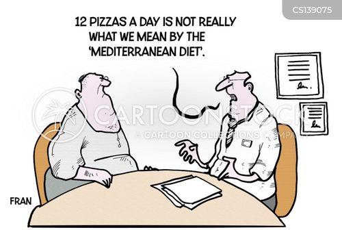 diet aids cartoon