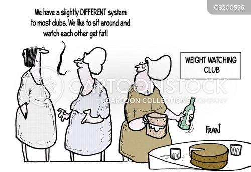 diet aid cartoon
