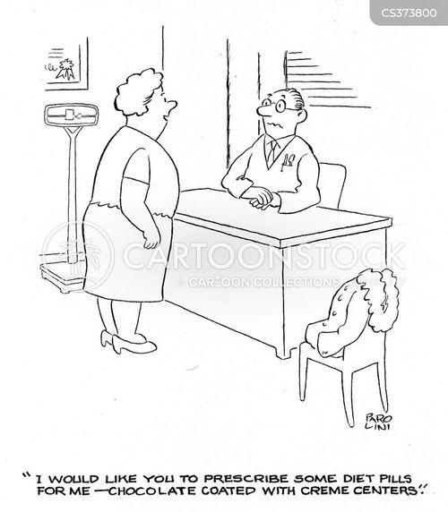 prescription pill cartoon