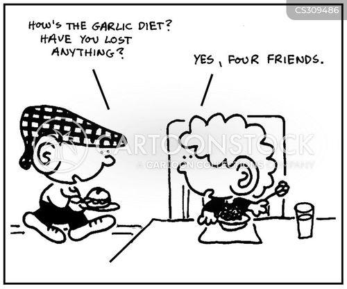 garlics cartoon
