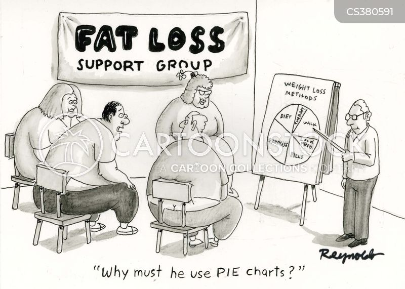 diet clubs cartoon