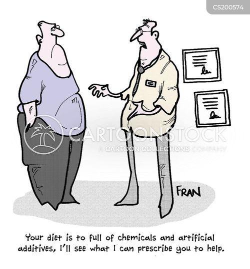 diet pill cartoon