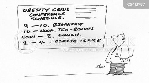 weight-problem cartoon