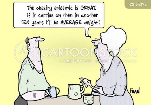weight issue cartoon