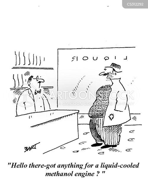 off-license cartoon