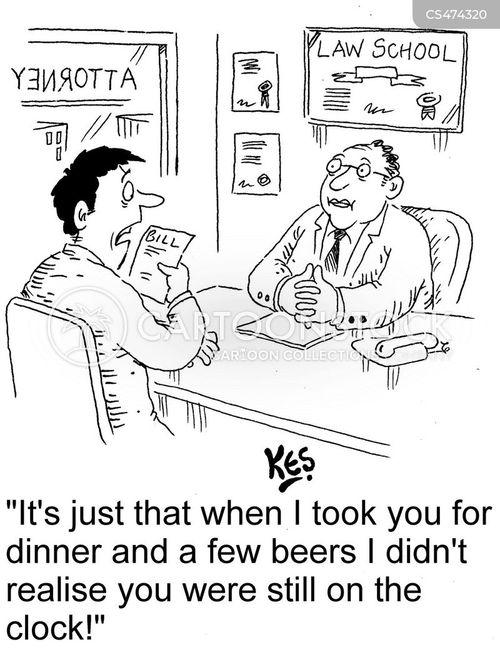 business meals cartoon