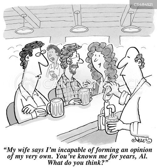 passiveness cartoon