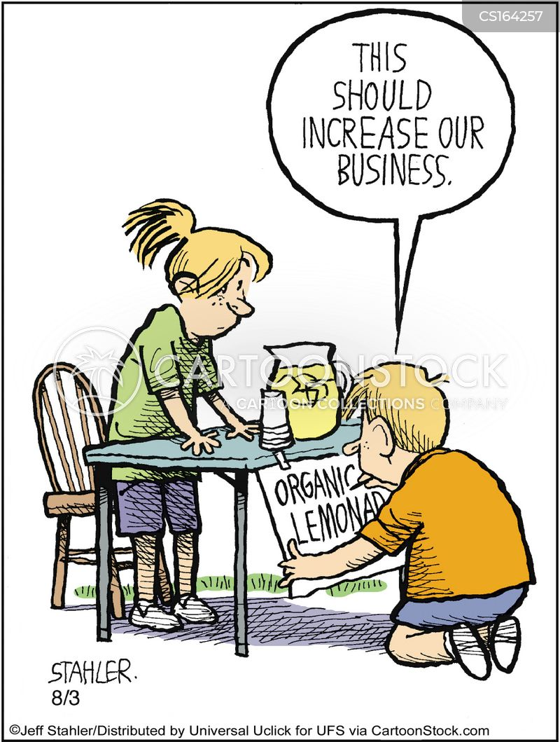 local economies cartoon