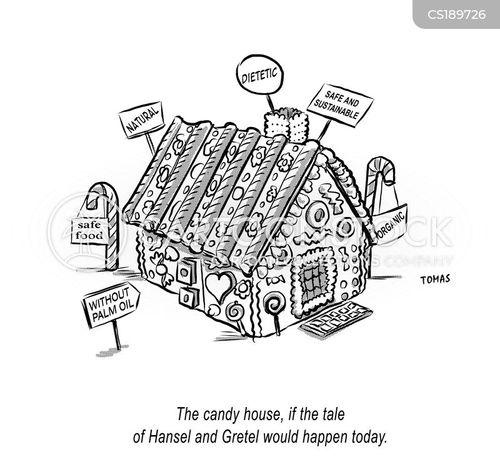 candy house cartoon